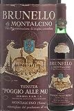 1971 ブルネッロ ディ モンタルチーノ ポッジョ アッレ ムーラ カステッロ バンフィ Castello Banfi Brunello di Montalcino Poggio Alle Mura 1971 [並行輸入品]