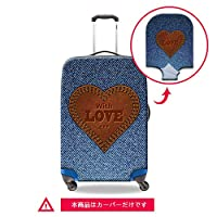 Dispalang スーツケースカバー 3Dプリント 伸縮素材 カウボーイ模様Suitcasecover-cowboy-1S