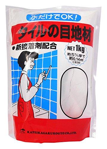 RoomClip商品情報 - 家庭化学 タイルの目地材 ホワイト 1kg