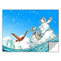 ArtWall ArtApeelz Luis Peres 'Polar 1' Removable Wall Art Graphic, 36 by 48-Inch [並行輸入品]