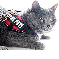 メッシュ胸ストラップ猫トラクションロープペット胸ストラップ猫特殊ロープ トラクションロープ
