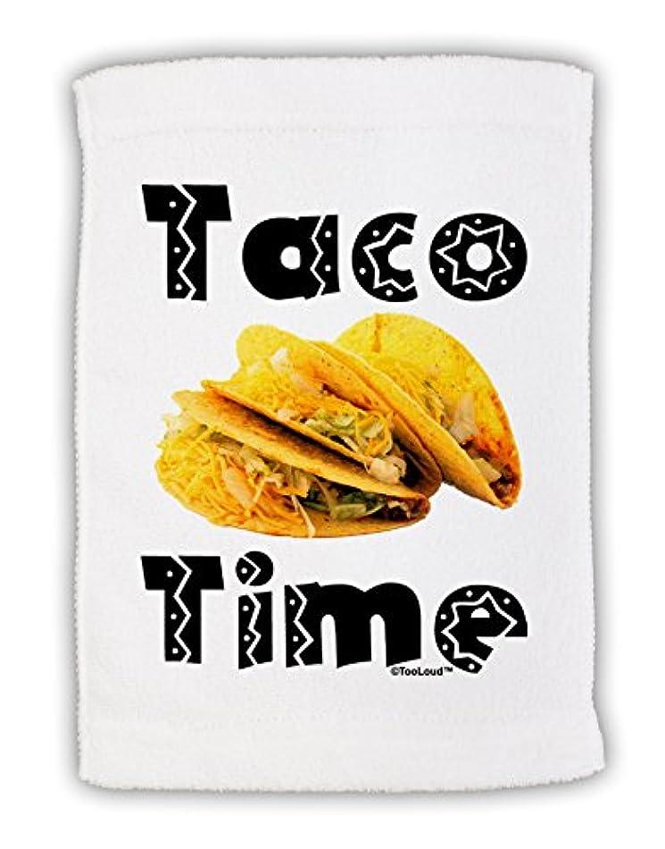 チャンス鉛敷居TooLoud Taco Time – Mexican FoodデザインMicro Terryスポーツタオル11