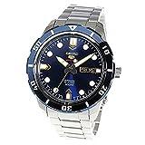 セイコー 5 スポーツ 自動巻き メンズ 腕時計 SRP677J1 ネイビー [並行輸入品]