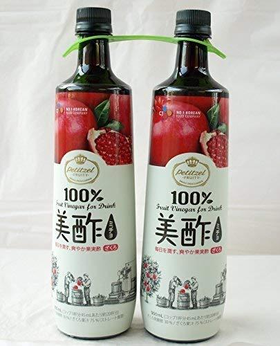 #586767 CJ ミチョ美酢ザクロ酢 900ml×2本セット