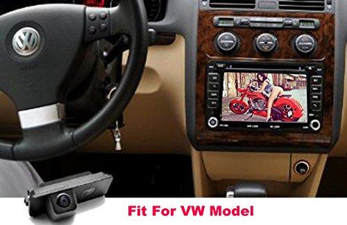 Auto Wayfeng® バックカメラ VWフォルクスワーゲンゴルフV CCパサートB6ポロゴルフ5シロッコEOSルポ(2ケージ)/ 車のリアビューカメラの for VW Golf V CC Passat Polo Golf 5 Scirocco EOS Lupo(2 Cage)