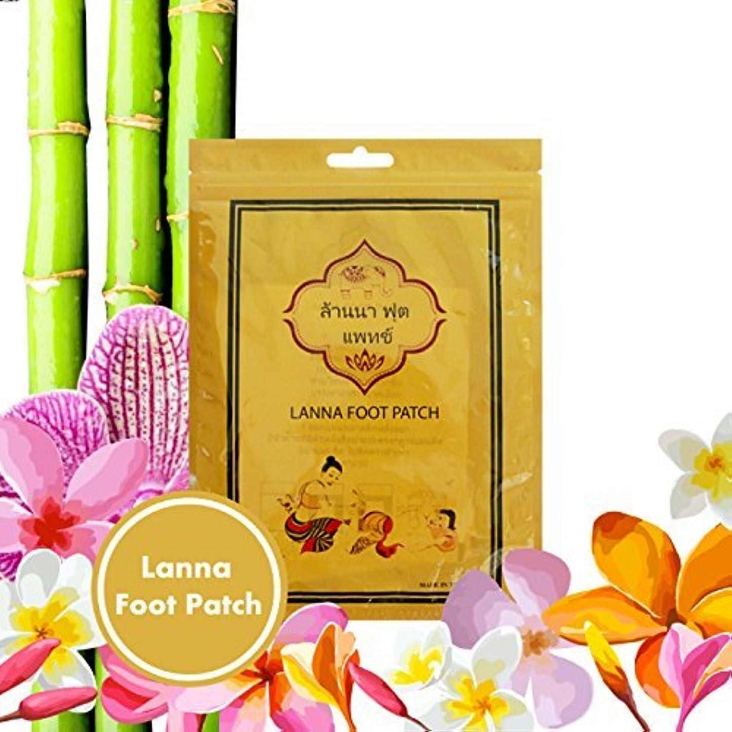 カヌー四夏KEEXUENNL タイすべての天然ハーブフットパッド/ランナフットパッチ 不純物を除去する/ストレスを緩和する/あなたの体のための睡眠/健康を改善する - (10 ピース/5ペア) ワンサイズ