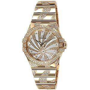 [オメガ]OMEGA 腕時計 コンステレーション コーアクシャル自動巻 K18PG無垢 123.55.31.20.55.008 レディース 【並行輸入品】