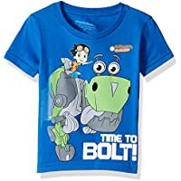 Nickelodeon Toddler Boys' Rusty Rivets Time to Bolt Short Sleeve T-Shirt