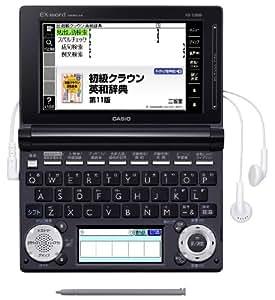 専用ケース付 カシオEX-word 電子辞書 中学生向けモデル XD-D3800BK-A ブラック