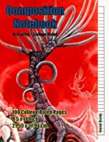 Composition Notebook & Journal - College Ruled: (3) 8.5 x 11 inches - 100 pages