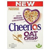 (Nestle (寄り添います)) チーリオスのオート麦さわやかな穀物350グラム (x4) - Nestle Cheerios Oat Crisp Cereal 350g (Pack of 4) [並行輸入品]