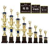 [レーザー彫刻名入れ] GOLD SHACHI 優勝トロフィー T8530 【選べる人形47種類】