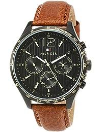 [トミーヒルフィガー]TOMMY HILFIGER 腕時計 GAVIN ブラック文字盤 クォーツ 1791470 メンズ 【並行輸入品】