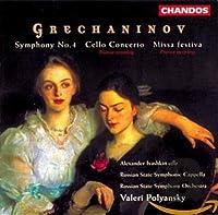 Symphony 4 / Cello Concerto / Missa Festiva