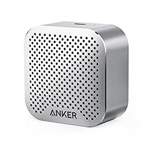Anker SoundCore nano 超コンパクト Bluetoothスピーカー 【高品質アルミ外装 / 内蔵マイク搭載】(スペースグレー)