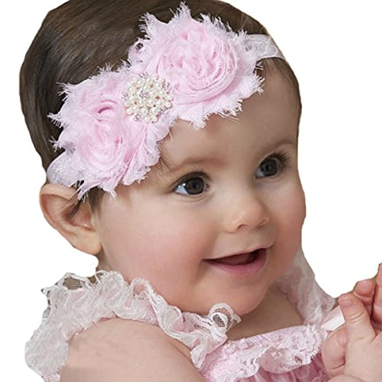 miugleベビー女の子シックなヘッドバンド新生児ヘアリボン乳児幼児Headdress
