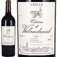 2000 アクセル ド ヴァランドロー 赤ワイン 辛口 フルボディ 750ml Axelle de Valandraud
