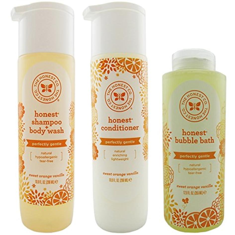 谷横に安西The Honest Company Shampoo & Body Wash, Conditioner, and Bubble Bath Variety Pack by The Honest Company