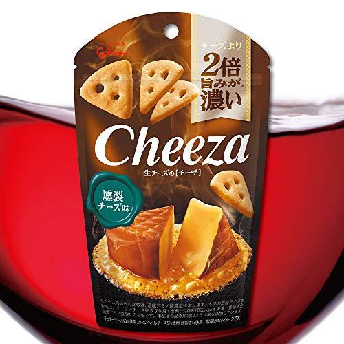 グリコ 生チーズのチーザ〈燻製チーズ味〉 40g 80コ入り