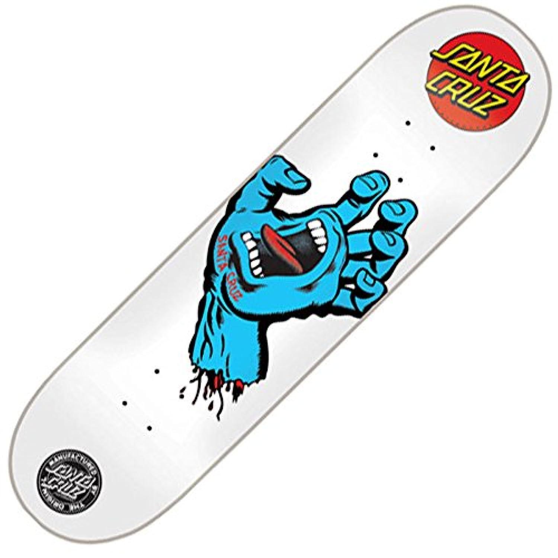 【Santa Cruz】 サンタクルーズ 【Screaming Hand White/Blue Deck】 7.75×31.4 (inch) SKATEBOARD スケボー スケート デッキ 板 スクリーミングハンド 定番