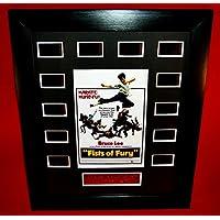 ■ドラゴン怒りの鉄拳■FIST OF FURY (1971) ■ブルース リー as チェン ■Bruce Lee as Chen Zhen ■フィルムセル+ミニポスター額装品(12-1)