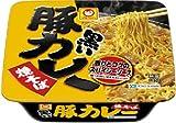 マルちゃん 黒い豚カレー焼そば 112g 1ケース(12食入)