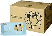 """( amazon.co.jp 日本亚马逊限定产品 ) 99% 纯水婴儿湿纸巾 """"小狗图案"""" 80片/包×20包(1600片) 日本制造、不含防腐剂"""