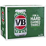 Victoria Bitter Beer Case 30 x 375mL Cans