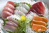 北海道初夏・市場の大将お任せ朝獲れ極上お刺身豪華5点セット(天然本マグロ、カニむき身等セット)