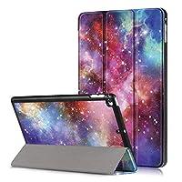 XIHAMA コンパチブル iPad mini5 兼用 iPad mini4 保護ケース 7.9インチ 三つ折りスタンド TPU ソフト PUレザー スマートカバー 傷防止 オートスリープ機能有り 全面保護 (ipad mini5 / ipad mini4, 銀河)