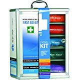 First Aid Works National Workplace Wall Mount First Aid Kit
