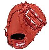 Rawlings(ローリングス) 軟式用 ジュニア ローリングスゲーマー DP [ファースト用] GJ7G3ACD レッドオレンジ [サイズ LL] [11 1/2inch] LH(Right hand throw)※右投用