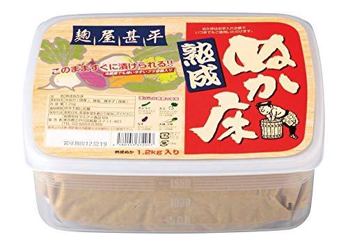 麹屋甚平 熟成ぬか床 1.2kg...
