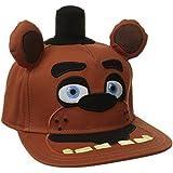 [バイオワールド]bioWorld Five Nights At Freddy's Big Face Plush Snapback Baseball Cap 190371090493 [並行輸入品]