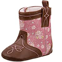 Laura Ashley Baby Girls Soft Bottom Western Cowboy Boot (Infant/Toddler)