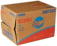 Kimberly Clark Safety 34015 White WYPALL X60 Wipers 12.5 x 16.8 Sheets (Pack of 180) [並行輸入品]