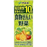 伊藤園 食物せんい野菜 (紙パック) 200ml×24本