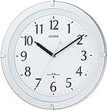 CITIZEN ( シチズン ) 電波 掛け時計 リバライト F460 ホワイト 8MY460-003