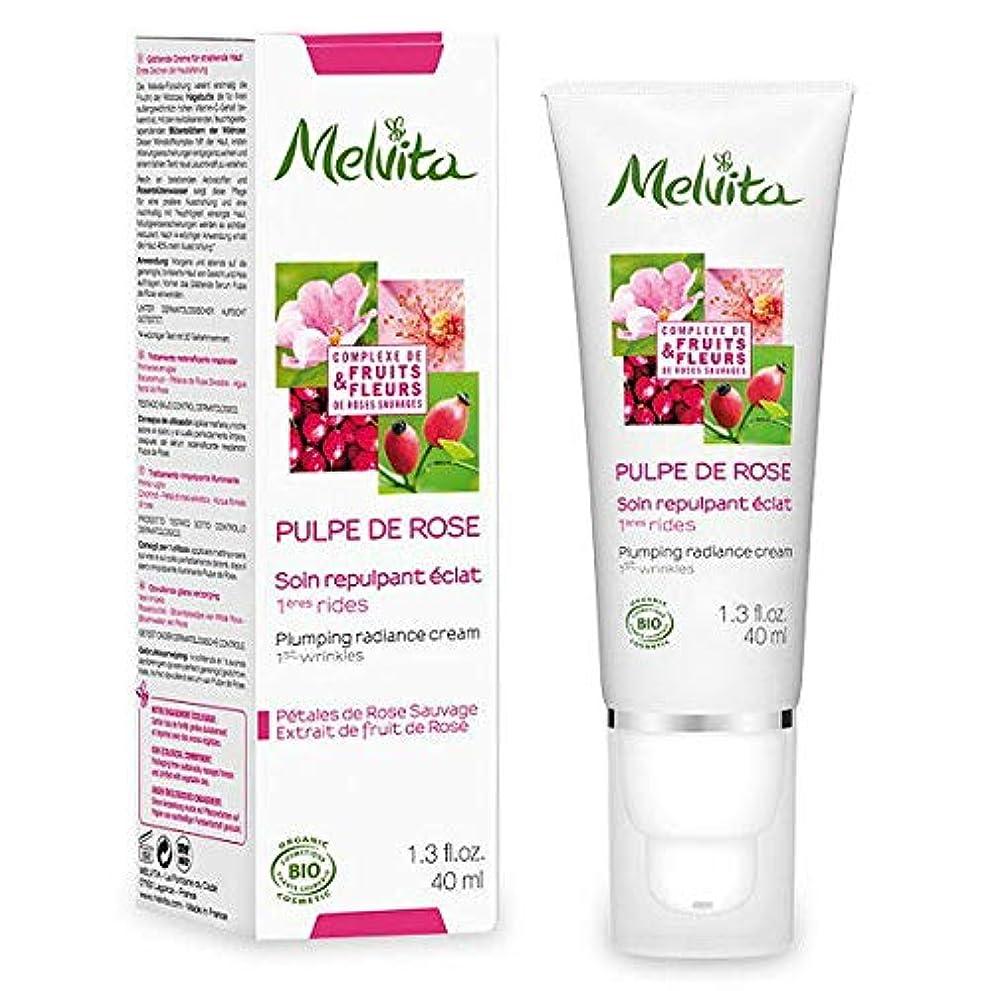 応用定期的なメルヴィータ(Melvita) ローズパルプ クリーム 40ml[並行輸入品]