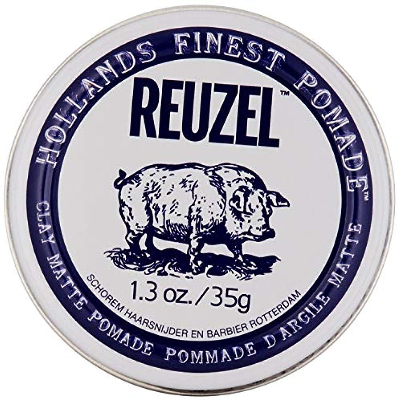 要求倫理的後方REUZEL INC Reuzelクレイマットポマード、1.3オンス 0.1 白