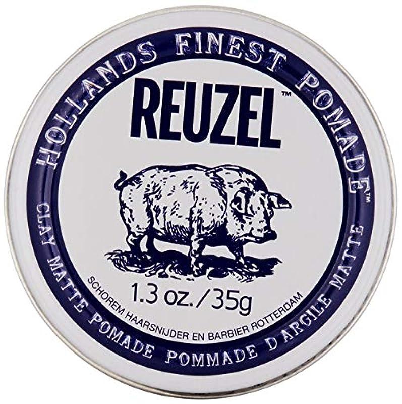 に話すタンクボードREUZEL INC Reuzelクレイマットポマード、1.3オンス 0.1 白