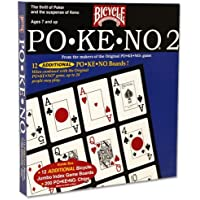 Newest Edition po-ke-no 2号カードゲーム – Includes Bonusデッキのカード。