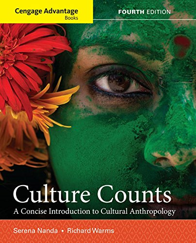 Download Culture Counts: A Concise Introduction to Cultural Anthropology 1337109681