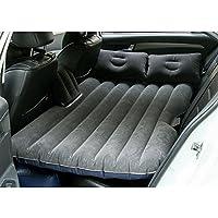 スプリットインフレータブルベッドトラベルインフレータブルベッドバックシート拡張マットレスショックベッドピクニックベッド ( 色 : グレー )