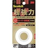 3Mスコッチ超強力両面テーププレミアゴールドスーパー多途1巻KPS-12