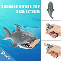 coerni Funny Shark Stress Relief Squeeze Toy