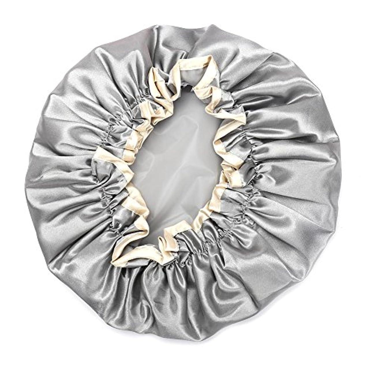 描写大使館ドラゴンHitchlike シャワーキャップ ヘアキャップ ヘアーキャップ ヘアーターバン 入浴キャップ 帽子 お風呂、シャワー用に 浴用帽子 便利 女性の弾性の防水入浴シャワーキャップ再使用可能なサロンの髪を保護する帽子