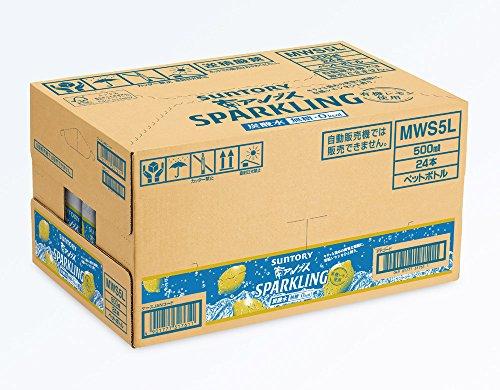 [炭酸水]サントリー 天然水 南アルプス スパークリングレモン 500ml×24本