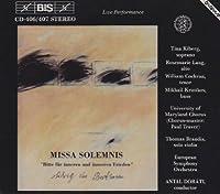 Missa Solemnis In D Major Op. by LUDWIG VAN BEETHOVEN (1994-09-23)