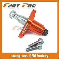 Cncオートバイタイミングチェーンテンショナー用zongshen 77ミリメートルnc250 250ccクラスkayo t6 k6 bse j5 rx3 ZS250GY-3 4バルブ部品-orange